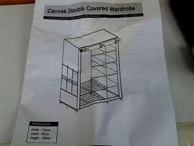 Freecycle Canvas double wardrobe
