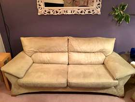 Freecycle 3 seater sofa and armchair