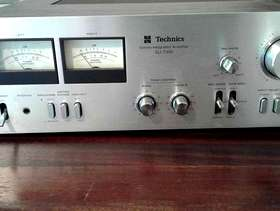 Freecycle Techics stereo amplifier.