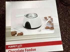 Freecycle Chocolate fondue set