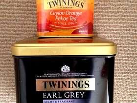 Freecycle Twinings Tea Tins