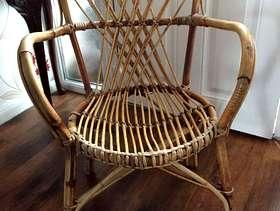 Freecycle Cane chair
