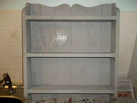 Freecycle Plate rack Cottage Style
