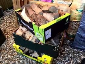 Freecycle Logs - fire ready