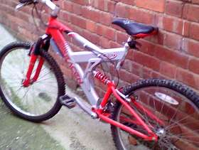 Freecycle Mountain bike saracen £40..to clear
