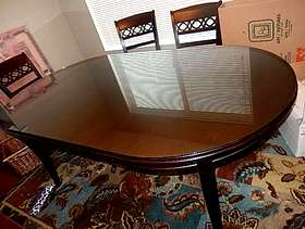Freecycle Free Glass Table Top for Dining Table
