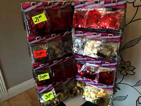 Freecycle 700 packets of various sequins great value