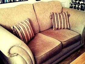 Freecycle Three seater and a two seater sofa