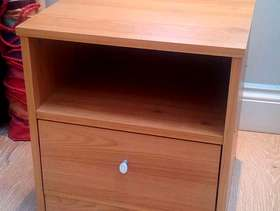 Freecycle Bedside table