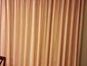 Freecycle Large Pair of Curtains with Pelmet/Vallance & Tie-backs