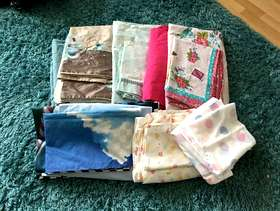 Freecycle Bedding/double and single