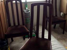 Freecycle Dining room chairs.