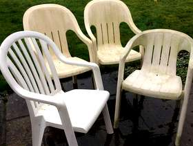 Freecycle Garden Chairs