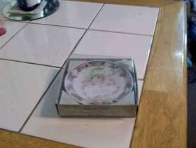Freecycle Precious moments plate