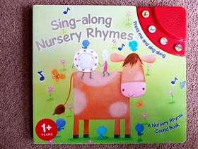 Freecycle Sing-along Nursery Rhymes - Musical Book - £3