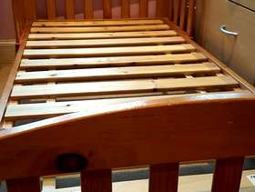 Freecycle Toddler bed