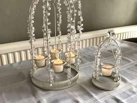 Freecycle 10 Wedding candle cages / 11 mirrors