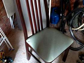 Freecycle 5 wooden chairs