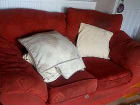 Freecycle 3 and 2 seater sofas