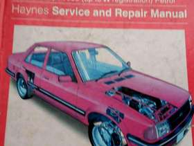 Freecycle Ford Orion Haynes Service and Repair Manual