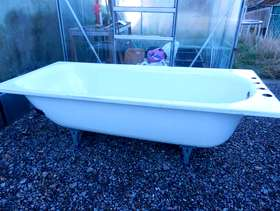 Freecycle Steel bath tub 180 x 80cm