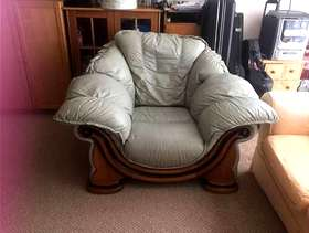 Freecycle Crazy comfortable chair