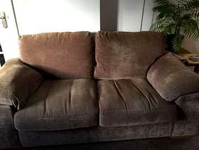 Freecycle Harveys Mushroom 3 Seater Sofa