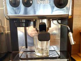 Freecycle Dualit 84009 2 Cups Espresso Machine - Chrome (barely used ...