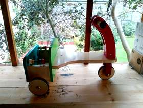 Freecycle Wooden trike