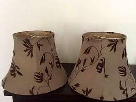 Freecycle Lampshades x 2