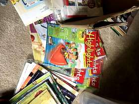 Freecycle Children's Magazines