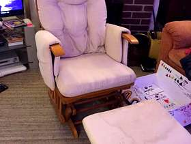 Freecycle Nursing chair