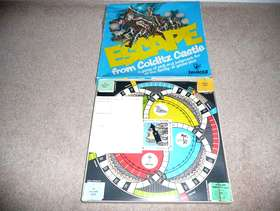 Freecycle Escape from Colditz Castle Board Game