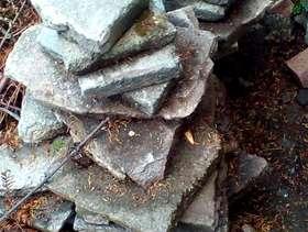 Freecycle Broken paving slabs