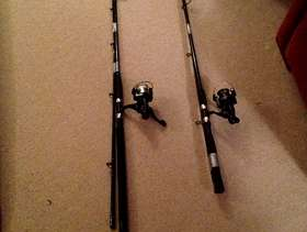 Freecycle Fishing rods
