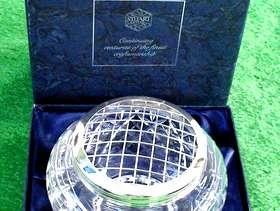 Freecycle Stuart Crystal Rose Bowl