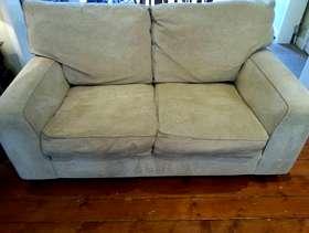 Freecycle Oat colour 2-seater sofa