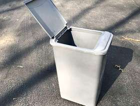 Freecycle Flip-lid Trash Can (probably fits standard cabinet insert)