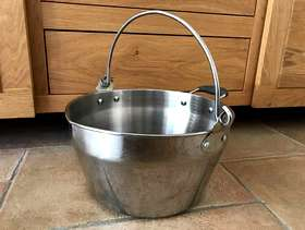 Freecycle 8.5l jam pan, Lakeland stainless steel