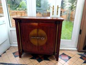 Freecycle Oriental style cabinet