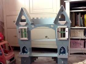 Freecycle Princess castle wall shelf £10