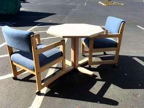 Freecycle Free Activity Tables, Lounge Chairs, and Nightstands