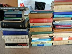 Freecycle 50 Old Medical / Medicine Books from the 1960's