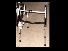 Freecycle Walker or aid to getting off the commode.