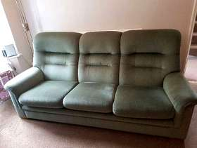 Freecycle Green Parker Knoll 3 seater sofa