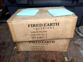 Freecycle Fired Earth glass Wall tiles