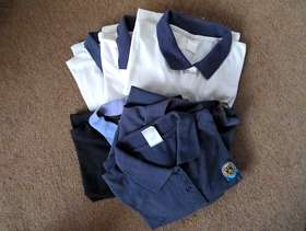 Freecycle 5 Guide Association Polo Shirts (some fading)