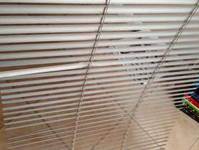 Freecycle 2 x 2ft Venetian Silver Blinds