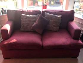 Freecycle Laura Ashley two-seater sofa
