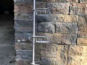 Freecycle Shower Caddie, spring-loaded, telescoping